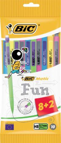 PM BIC MATIC FUN 8+2 GRATIS