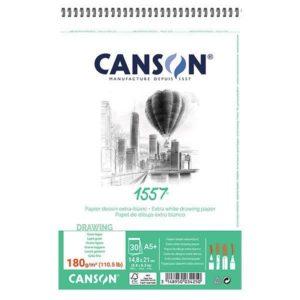 1557 BLOC CANSON 180GR SPI A5 30FLS