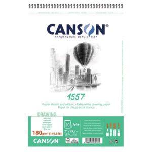 1557 BLOC CANSON  180GR SPI A4 30FLS