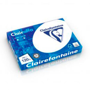 PAPIER IMPRESSION CLAIREFONTAINE 120GR A4 / 250 FLS