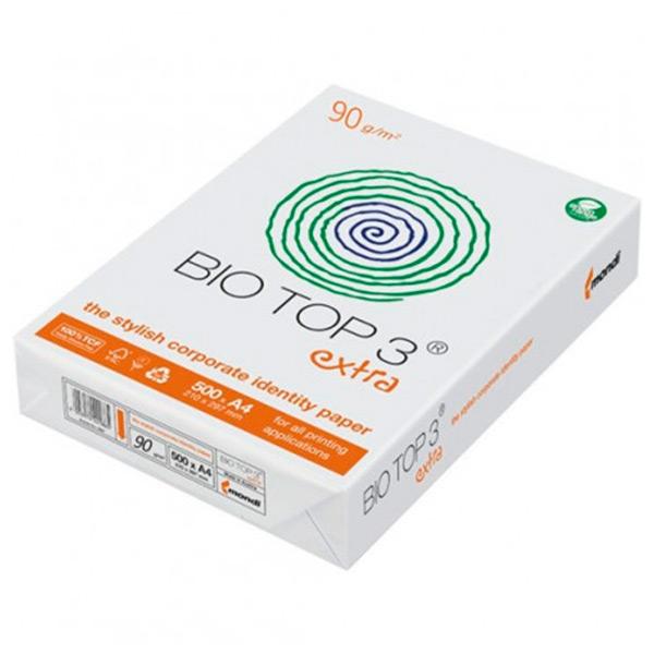 Papier premium pour photocopie et impression laser sans agents de blanchiment optiques de ton blanc